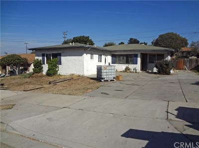 Orcutt Single Family Home Active Under Contract: 4142 Lockford Street