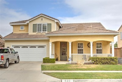 Santa Maria Single Family Home Active Under Contract: 635 Annie Way