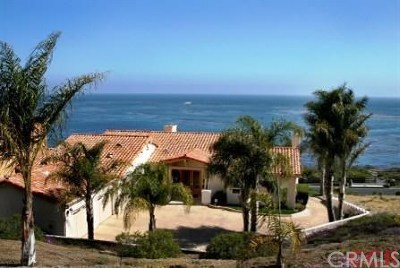 Pismo Beach CA Single Family Home For Sale: $4,950,000