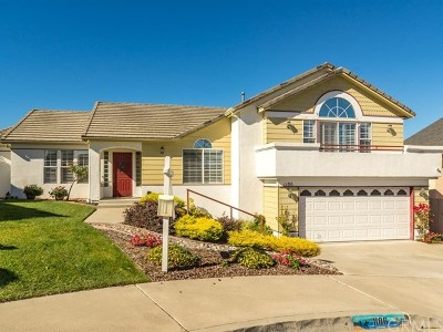 Grover Beach Single Family Home For Sale: 1186 San Sebastian Court