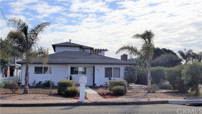 San Luis Obispo County Single Family Home For Sale: 906 Mentone Avenue