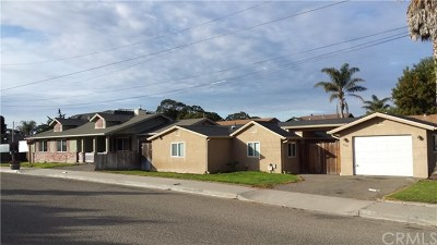 San Luis Obispo County Multi Family Home For Sale: 694 Trouville Avenue S