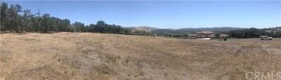 Arroyo Grande CA Residential Lots & Land For Sale: $505,000