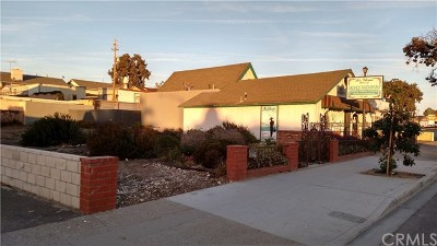 Grover Beach Commercial For Sale: 549 Grand Avenue