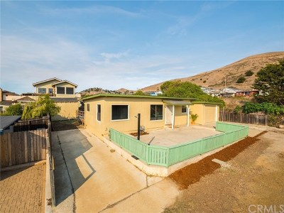 Cayucos Single Family Home For Sale: 69 Thalberg Avenue
