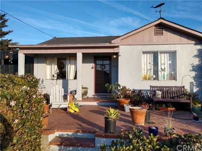 Grover Beach Single Family Home For Sale: 562 N 8th Street #A