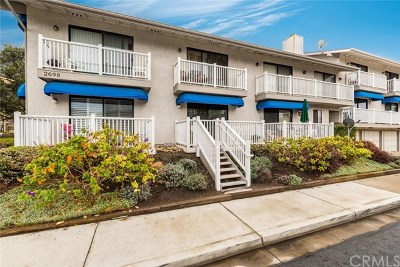 Pismo Beach Condo/Townhouse For Sale: 2698 Spyglass Drive #2