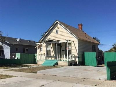 Santa Maria Single Family Home For Sale: 309 E Mill Street