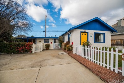 San Luis Obispo County Multi Family Home For Sale: 120 Wawona Avenue