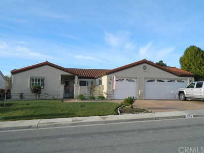 Pismo Beach Single Family Home For Sale: 284 Irish Way