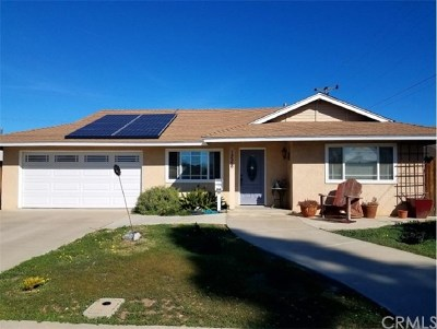 Santa Maria CA Single Family Home For Sale: $399,000