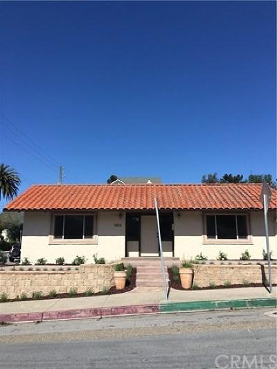 San Luis Obispo Commercial For Sale: 654 Osos Street