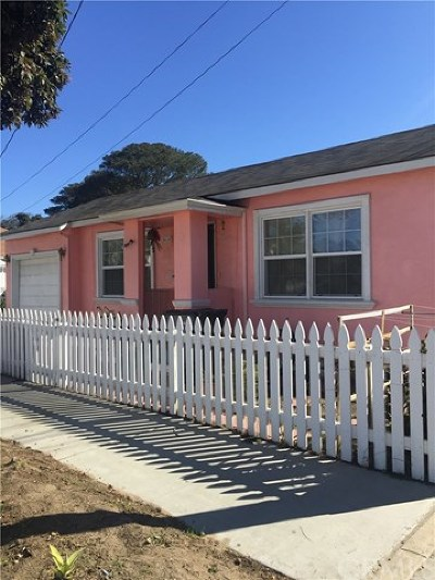 Santa Maria Single Family Home For Sale: 414 N. Pine Street