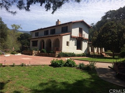 San Luis Obispo CA Single Family Home For Sale: $1,449,000