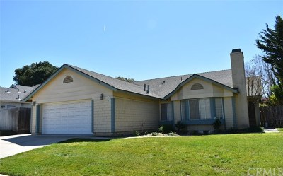 Orcutt Single Family Home For Sale: 172 Cain Drive