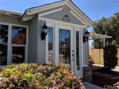 Arroyo Grande Single Family Home For Sale: 414 Orchard Street