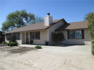 Paso Robles CA Single Family Home For Sale: $499,900