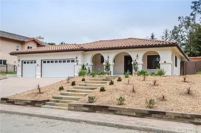 Arroyo Grande Single Family Home For Sale: 2680 Brentwood Circle