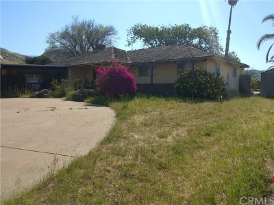 San Luis Obispo County Single Family Home For Sale: 3579 Santa Manuela Road
