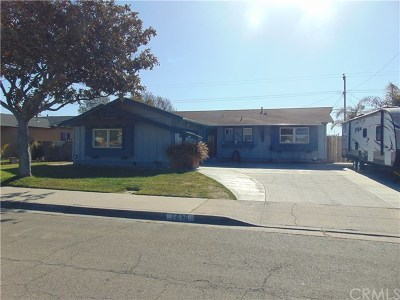 Santa Maria Single Family Home For Sale: 1015 N School Street