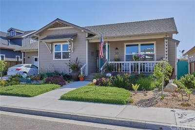Arroyo Grande Single Family Home For Sale: 322 Myrtle Drive