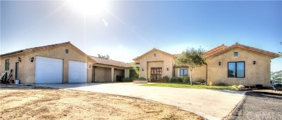 Santa Maria Single Family Home For Sale: 6851 Long Canyon Road