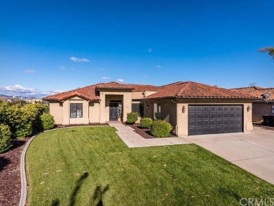 Santa Maria CA Single Family Home For Sale: $569,000