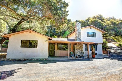 Santa Maria Single Family Home For Sale: 2980 Tepusquet Road