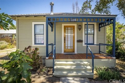 San Luis Obispo Single Family Home For Sale: 1159 Leff Street