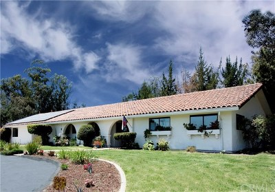 Nipomo Single Family Home For Sale: 1080 Dawn Road