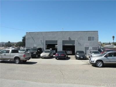 San Luis Obispo County Commercial For Sale: 1217 Manhattan Avenue
