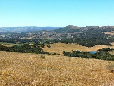 San Luis Obispo County, Monterey County, Santa Barbara County Residential Lots & Land For Sale: 5800 Campbell Road