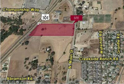 San Luis Obispo County Residential Lots & Land For Sale: 301 N Main Street