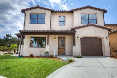 San Luis Obispo County Single Family Home For Sale: 121 Finnians Way