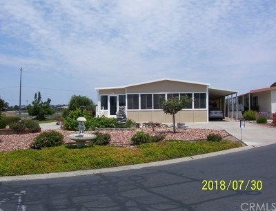 Arroyo Grande Mobile Home For Sale: 390 Sunrise Terrace