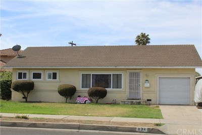 Santa Maria Single Family Home For Sale: 834 Sierra Madre Avenue