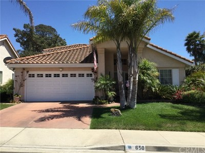 Monterey County, San Luis Obispo County Single Family Home For Sale: 650 Riviera Circle