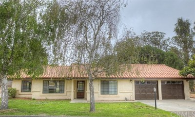 Arroyo Grande Single Family Home For Sale: 541 Cameo Way