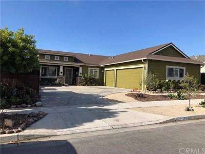Arroyo Grande Single Family Home Active Under Contract: 1412 Cedar Street