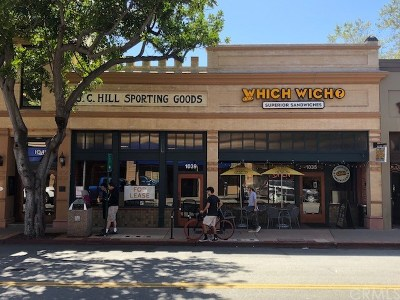 San Luis Obispo County Commercial Lease For Lease: 1035 Chorro Street