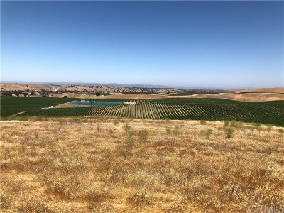 Paso Robles Residential Lots & Land For Sale: 3770 Gruenhagen Way