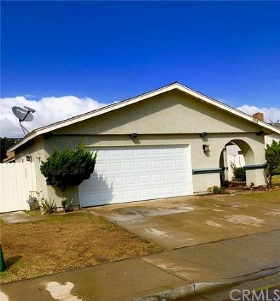 Santa Maria Single Family Home For Sale: 948 Gunner Street