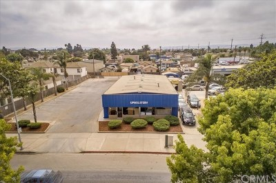 Santa Maria Commercial For Sale: 1118 W Main Street
