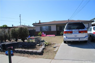 San Luis Obispo County Multi Family Home For Sale: 458 S 14th Street