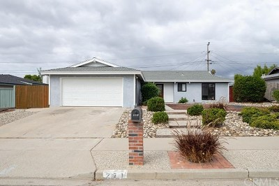 Lompoc Single Family Home For Sale: 271 Regulus Avenue
