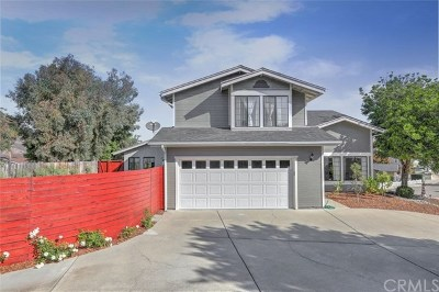 Pismo Beach CA Single Family Home For Sale: $849,000