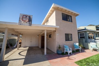 Pismo Beach CA Single Family Home For Sale: $980,000