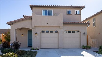 Pismo Beach Single Family Home For Sale: 107 Village Circle