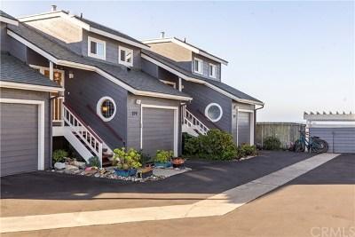 San Simeon Condo/Townhouse For Sale: 279 Vista Del Mar #5