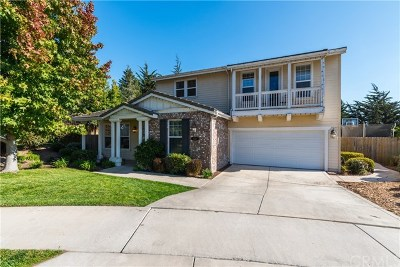 San Luis Obispo County Single Family Home For Sale: 821 Longspur Lane